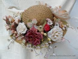 sombrero de flores